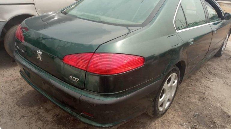 Nigeria Used Peugeot 607 2009 Model Green -4