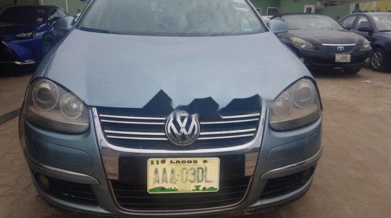 Nigeria Used Volkswagen Jetta 2008 Model Blue -0