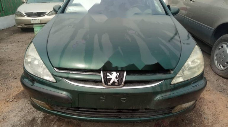 Nigeria Used Peugeot 607 2009 Model Green -0