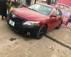 Nigeria Used Toyota Camry 2008 Model Red-2