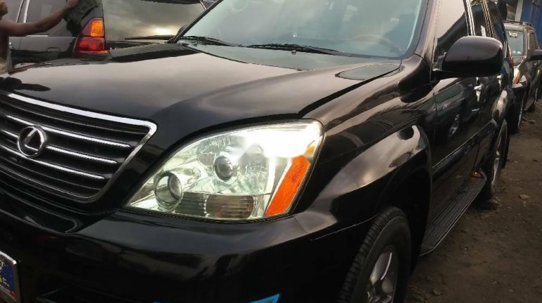 Foreign Used Lexus GX 2008 Model Black-1