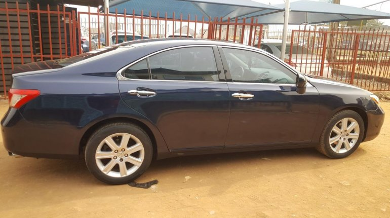 Foreign Used Lexus ES 2008 Model Blue-6