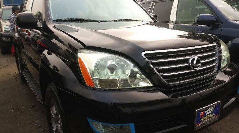 Foreign Used Lexus GX 2008 Model Black-0