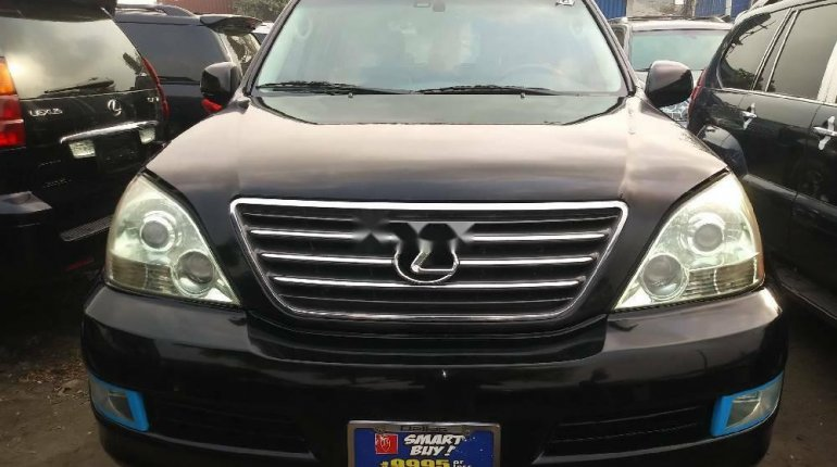 Foreign Used Lexus GX 2008 Model Black-3