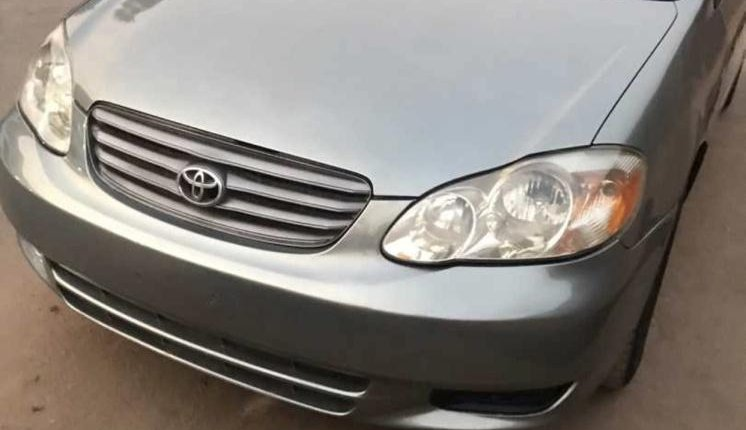 Nigeria Used Toyota Corolla 2004 Model Gray-0