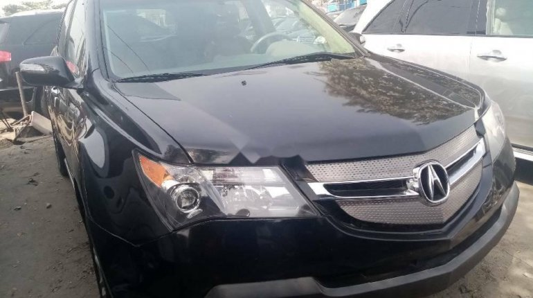 Foreign Used Acura MDX 2008 Model Black-0