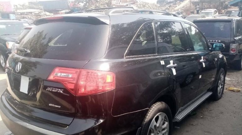 Foreign Used Acura MDX 2008 Model Black-3