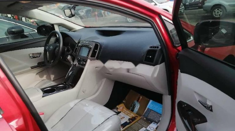 Foreign Used Toyota Venza 2010 Model Red-2