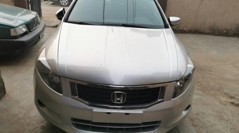Foreign Used Honda Accord 2008 Model Silver-0