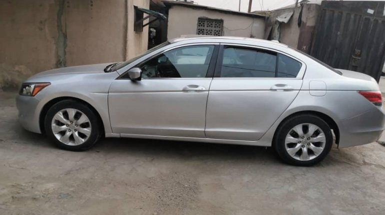 Foreign Used Honda Accord 2008 Model Silver-3