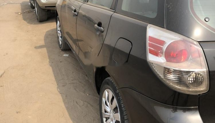 Foreign Used Toyota Matrix 2005 Model Black-2