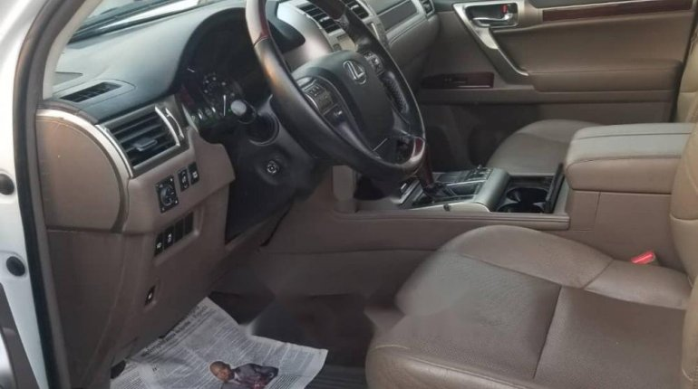 Foreign Used Lexus GX 2016 Model White-2