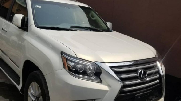 Foreign Used Lexus GX 2016 Model White-0