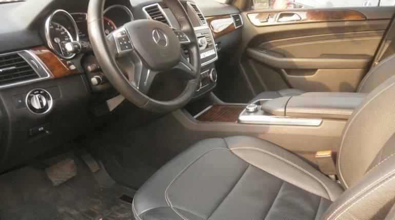 Tokunbo Mercedes-Benz ML350 2014 Model Gray-4