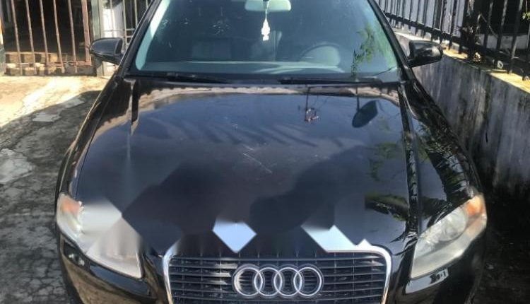 Foreign Used Audi A4 2007 Model Black-0