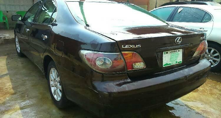 Nigeria Used Lexus ES 2006 Model Brown-2
