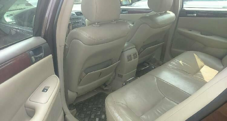 Nigeria Used Lexus ES 2006 Model Brown-5