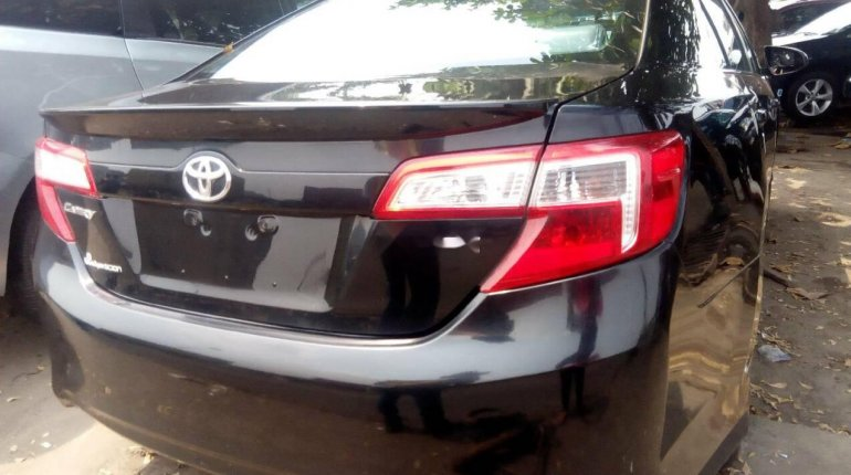 Foreign Used Toyota Camry 2012 Model Black -6