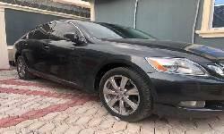 Nigeria Used Lexus GS 2008 Model Black-0