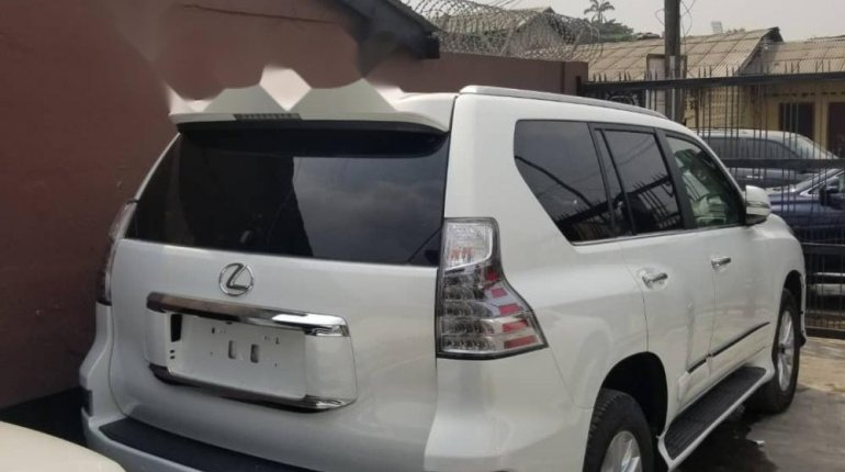 Foreign Used Lexus GX 2016 Model White-1