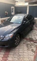 Nigeria Used Lexus GS 2008 Model Black-1