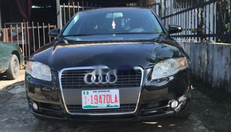 Foreign Used Audi A4 2007 Model Black-9