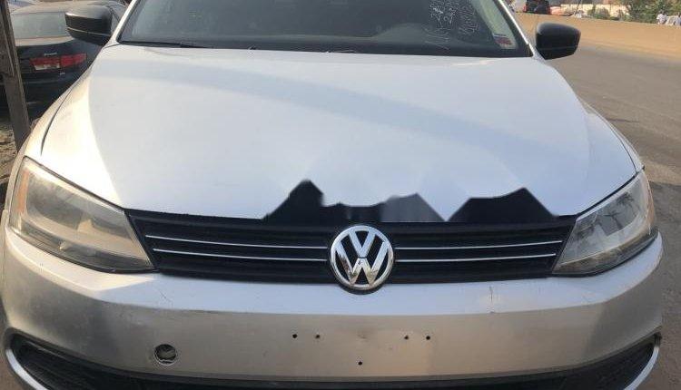 Nigeria Used Volkswagen Jetta 2011 Model Silver-2