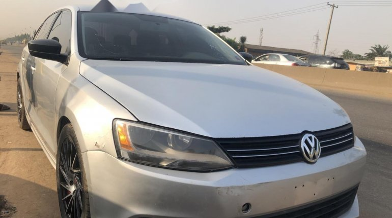 Nigeria Used Volkswagen Jetta 2011 Model Silver-1