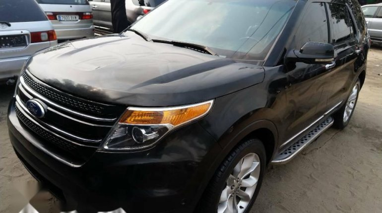 Foreign Used Ford Explorer 2012 Model Gray-0