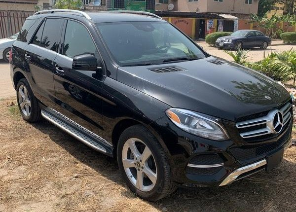 Tokunbo Mercedes-Benz GLE 2018 Model Black-8