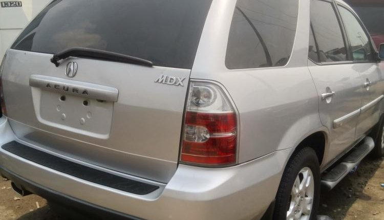 Foreign Used Acura MDX 2005 Model Silver-6