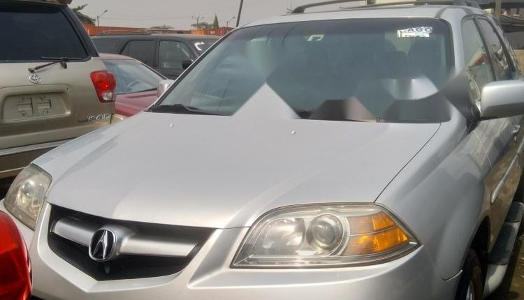 Foreign Used Acura MDX 2005 Model Silver-0