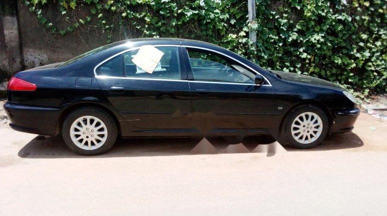 Nigeria Used Peugeot 607 2006 Model Black -2