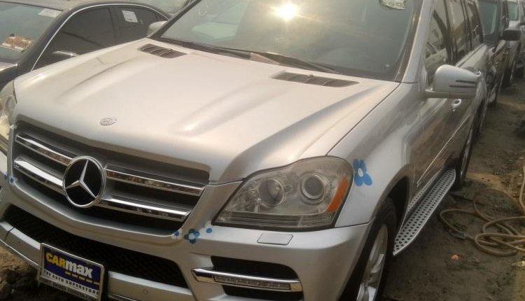 Tokunbo Mercedes-Benz G-Class 2012 Model Silver-6