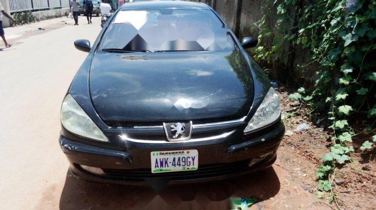 Nigeria Used Peugeot 607 2006 Model Black -0
