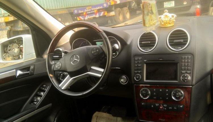 Tokunbo Mercedes-Benz G-Class 2012 Model Silver-2