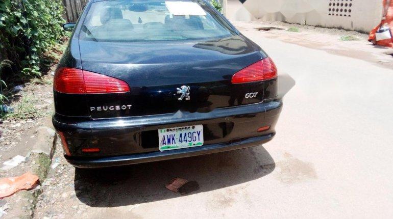 Nigeria Used Peugeot 607 2006 Model Black -1