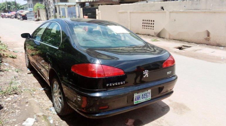 Nigeria Used Peugeot 607 2006 Model Black -3