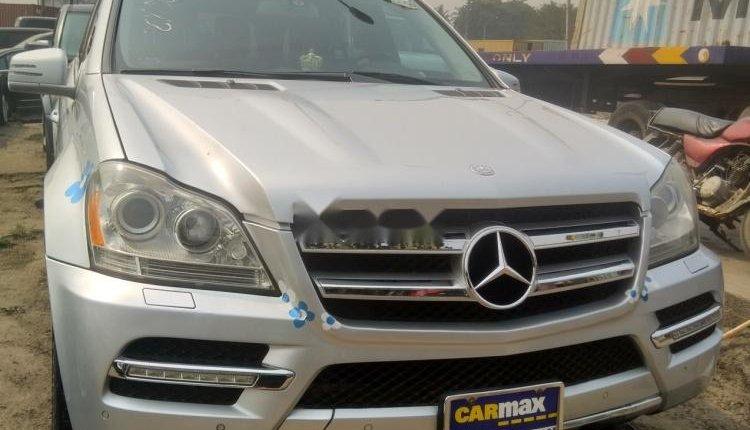 Tokunbo Mercedes-Benz G-Class 2012 Model Silver-0