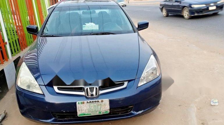 Nigeria Used Honda Accord 2003 Model Blue-0