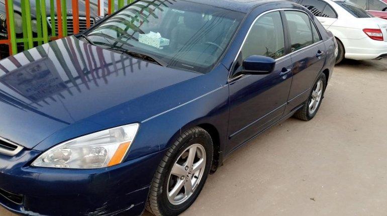 Nigeria Used Honda Accord 2003 Model Blue-1