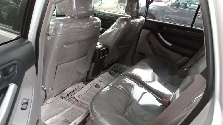 Foreign Used Toyota 4-Runner 2005 Model Silver-4