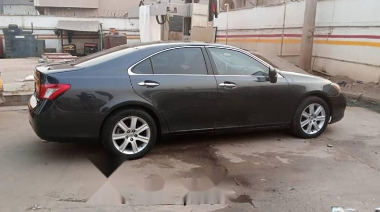 Foreign Used Lexus ES 2008 Model Black-10