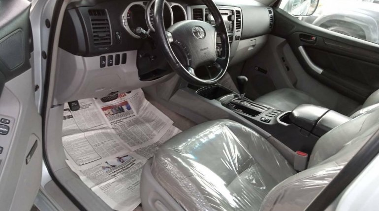 Foreign Used Toyota 4-Runner 2005 Model Silver-5