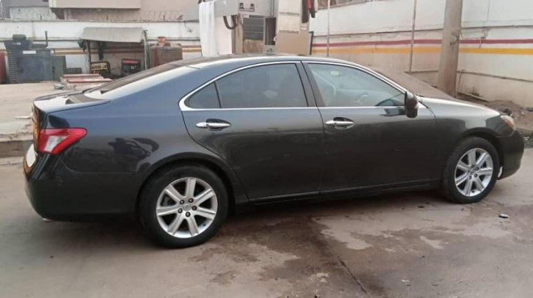 Foreign Used Lexus ES 2008 Model Black-3
