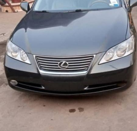 Foreign Used Lexus ES 2008 Model Black-1