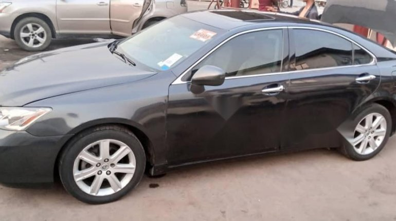 Foreign Used Lexus ES 2008 Model Black-2