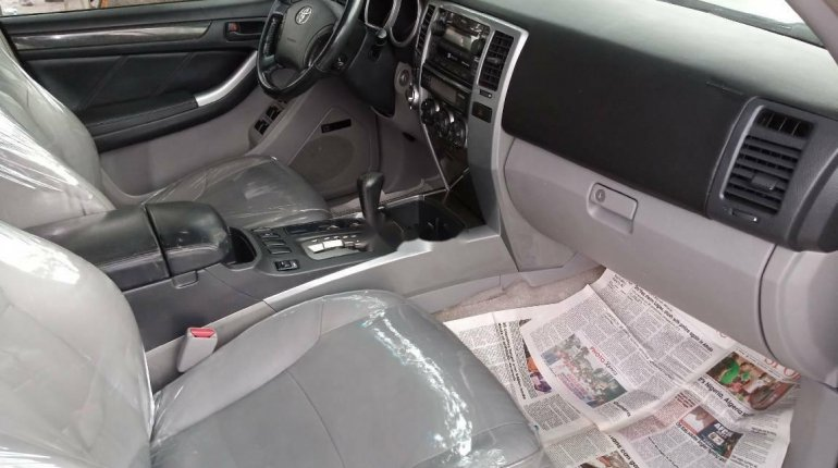 Foreign Used Toyota 4-Runner 2005 Model Silver-6
