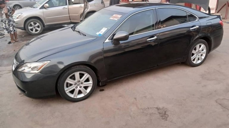 Foreign Used Lexus ES 2008 Model Black-9
