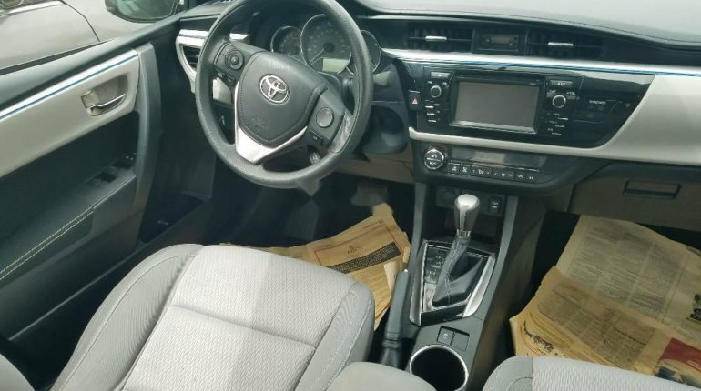 Foreign Used Toyota Corolla 2015 Model Black -4